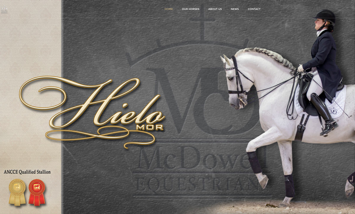 McDowell Equestrian Website