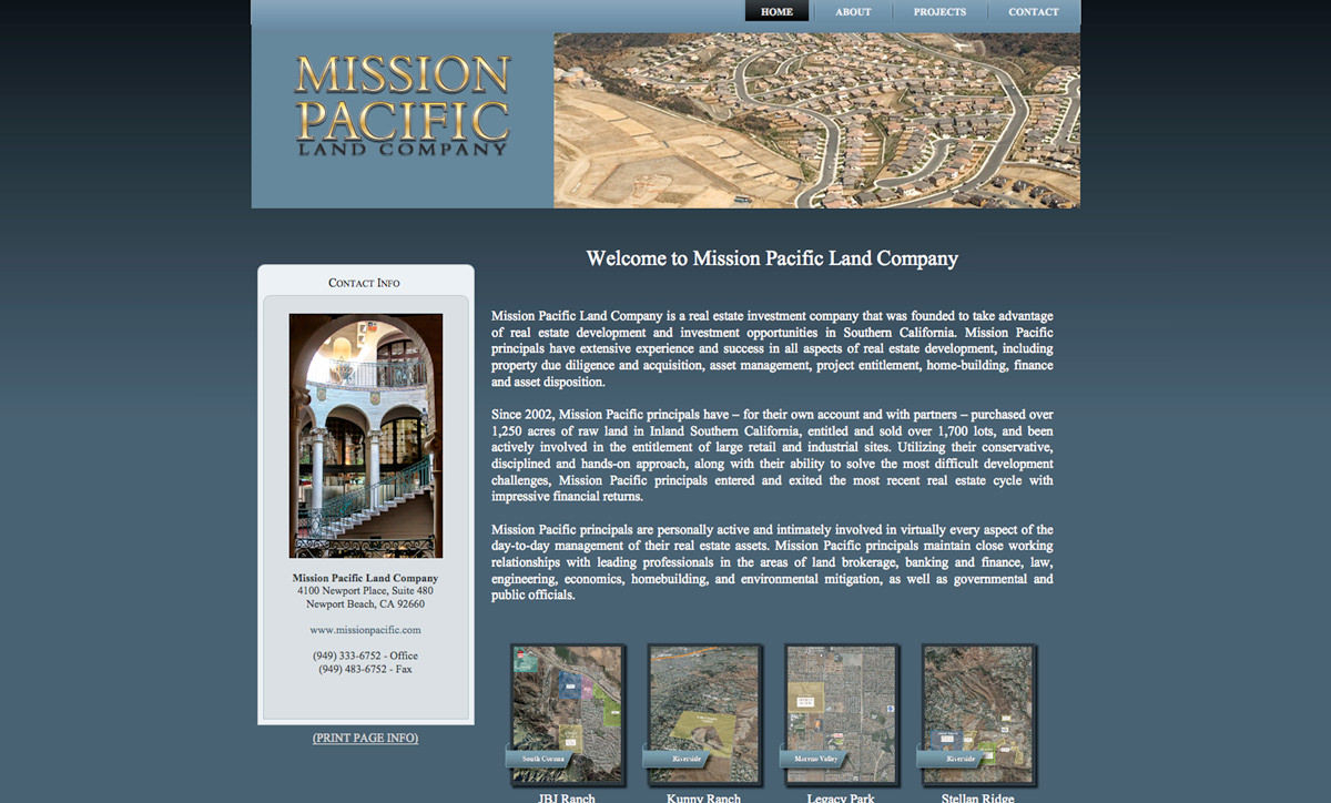 Mission Pacific Land Company