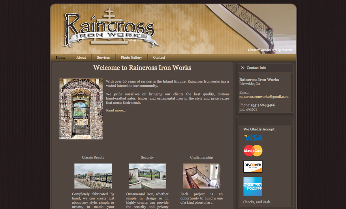 Raincross Ironworks