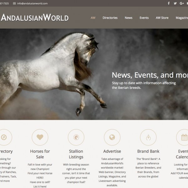 AndalusianWorld Website