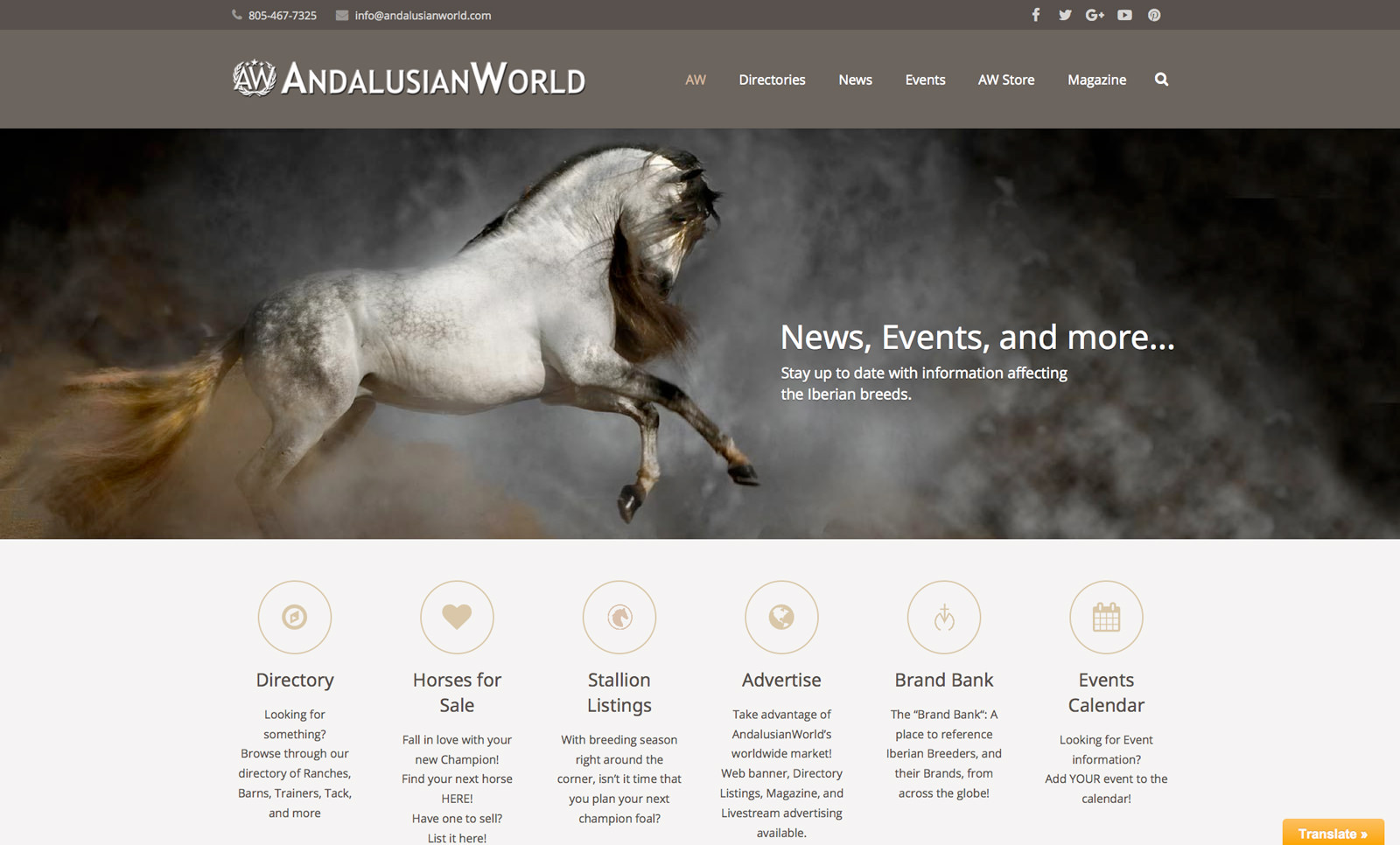 AndalusianWorld Website