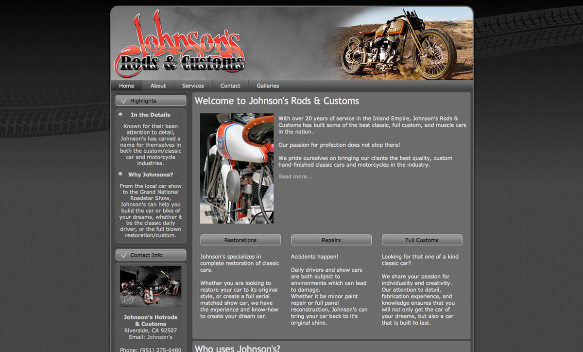 Johnsons Customs