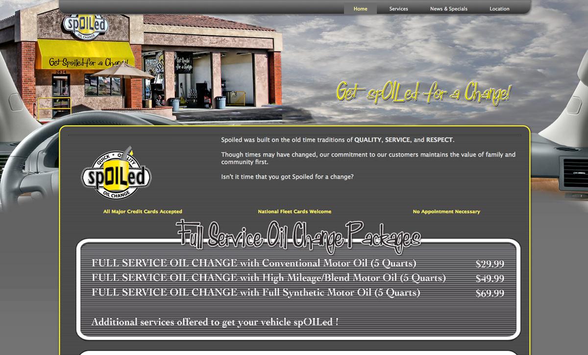 Spoiled Website