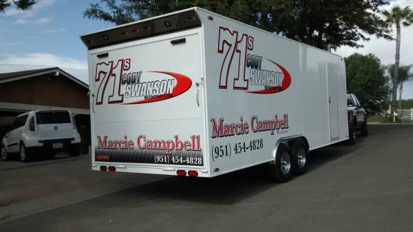 Swanson Motorsports Trailer